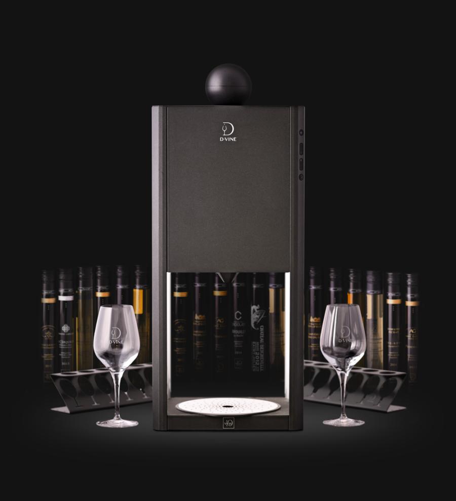Dégustez votre vin avec la machine D-vine